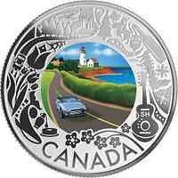 Kanada : 3 Dollar Küstenfahrt – Kanadische Feste #6  2019 PP