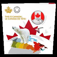 Kanada : 5 Dollar Das ist Canada  2019 Stgl.