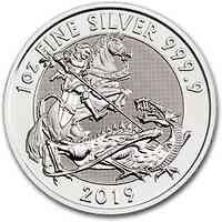 Großbritannien : 2 Pfund St. Georg (Valiant) 2019 Stgl.