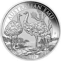 Australien : 1 Dollar Emu 2019 Stgl.