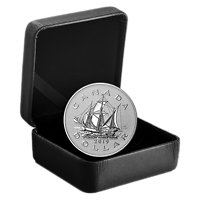 Kanada : 1 Dollar Erbe der Royal Canandian Mint - Der Matthew Dollar Piedfort 2019 Stgl.