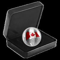 Kanada : 30 Dollar Die Struktur Canadas - gewellte Oberfläche 2 oz  2019 PP