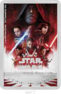 Niue : 2 Dollar Star Wars Classic – The last Jedi  2019 PP