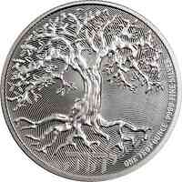Niue : 2 Dollar Niue - Tree of Life   1 oz  2019 Stgl.