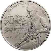 Ungarn : 3000 Forint 175 Jahre Nationalhymne  2019 Stgl.