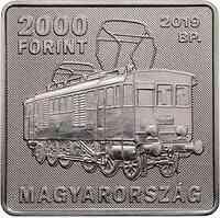 Ungarn : 2000 Forint 150. Geb. Kalman Kando - quadratisch  2019 PP