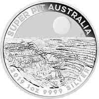 Australien : 1 Dollar Goldmine Super Pit 1 oz  2019 Stgl.