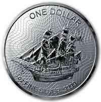 Cook Islands : 1 Dollar Bounty 1 oz  2019 Stgl.