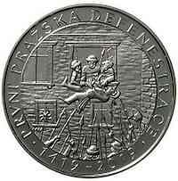 Tschechische Republik : 200 Kronen 600 Jahre 1. Prager Fenstersturz  2019 PP