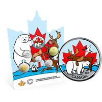 Kanada : 3,9 Dollar Kurssatz - Canadas Ikonen 2019 Stgl.