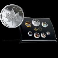 Kanada : 3,9 Dollar Canadas Umlaufmünzen in Farbe 2019 Stgl.