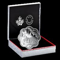 Kanada : 15 Dollar Jahr der Rattes/Lotus - Wellenform  2019 PP