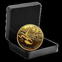 Kanada : 30 Dollar Orca u. Seelöwen - Gold. Reflektionen #1  2019 PP