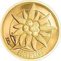 Mongolei : 1000 Tägrög Golden Edelweiss  2019 PP