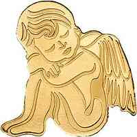 Palau Islands : 1 Dollar My Golden Guardian Angel  ohne Jahreszahl  2019 Stgl.