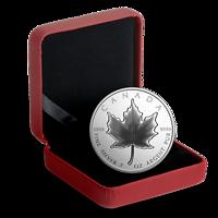 Kanada : 10 Dollar Maple Leaf - Pulsierendes Ahornblatt 2 oz  2020 PP
