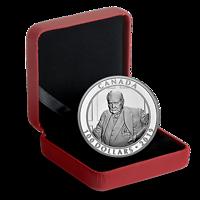 Kanada : 100 Dollar Winston Churchill-Portrait von Yousuf Karsh 10 oz  2019 PP