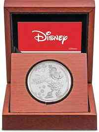 Niue : 2 Dollar Disney - Minnie Mouse 1 oz  2019 PP