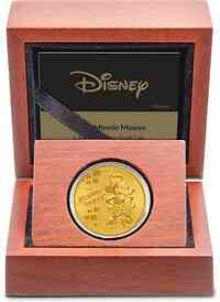 Niue : 25 Dollar Disney - Minnie Mouse 1/4 oz  2019 PP