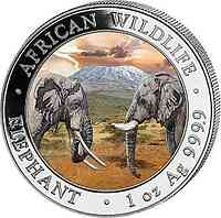 Somalia : 100 Schilling Elefant  2020 PP