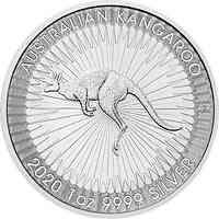 Australien : 1 Dollar Känguru 1 oz - Perth Mint Variante  2020 Stgl.