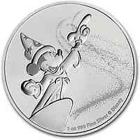 Niue : 2 Dollar Mickey Mouse - Fantasia  2019 Stgl.
