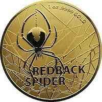 Australien : 100 Dollar Redback Spider - Bullion   1 oz  2020 Stgl.