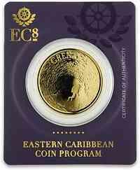Grenada : 10 Dollar Grenada - Tauchparadies 1 oz 2019 Stgl.