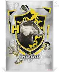 Niue : 1 Dollar Hufflepuff - Harry Potter  Silberbanknote  2020 Stgl.