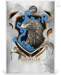 Niue : 1 Dollar Ravenclaw - Harry Potter  Silberbanknote  2020 Stgl.