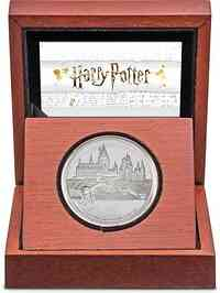 Niue : 2 Dollar Hogwarts Castle - Harry Potter   1 oz  2020 PP