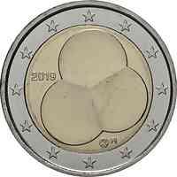 Finnland : 2 Euro 100 Jahre Finnische Verfassung von 1919  2019 bfr