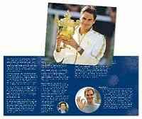 Schweiz : 20 sfr Roger Federer im Folder 2020 Stgl.