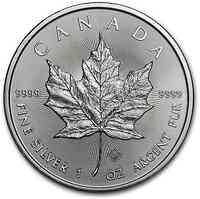 Kanada : 5 Dollar Maple Leaf 1 oz 2020 Stgl.