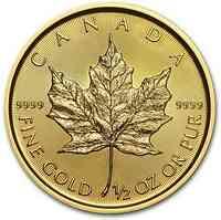 Kanada : 20 Dollar Maple Leaf   1/2 oz  2020 Stgl.