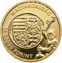 Ungarn : 5000 Forint Goldflorin von Vladislaus I.  2020 Stgl.