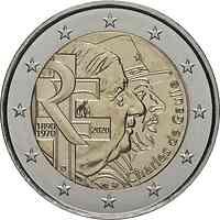 Frankreich : 2 Euro Charles de Gaulle  2020 bfr