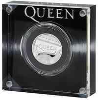 Großbritannien : 1 Pfund Queen - Musiklegenden 1/2 oz  2020 PP