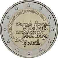Slowenien : 2 Euro 500. Geburtstag von Adam Bohoric  2020 bfr