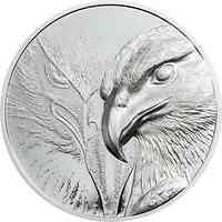 Mongolei : 250 T Majestic Eagle - im Etui  1 oz  2020 PP