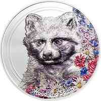 Mongolei : 500 T Woodland Spirits - Racoon Dog smartminting 2020 PP