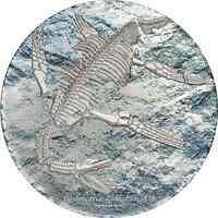Mongolei : 2000 T Plesiosaurier - Fossil  im Etui   3 oz  2020 Stgl.
