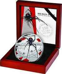 Niue : 10 Dollar Redback Spider  5 oz  2020 PP