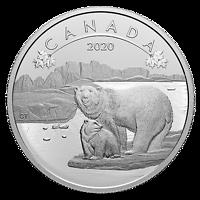 Kanada : 10 Dollar O Canada! - Eisbären #1 im Einzeletui  2020 Stgl.