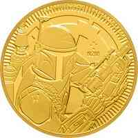 Niue : 250 Dollar Star Wars - Boba Fett Gold Bullion 1 oz  2020 Stgl.