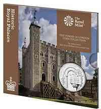 Großbritannien : 5 Pfund Tower von London - White Tower  2020 Stgl.