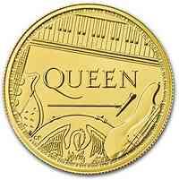 Großbritannien : 100 Pfund Queen - Rocklegenden - Bullion 1 oz 2020 Stgl.
