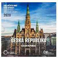 Tschechische Republik : 88,00 Kr.´20 Kursmünzensatz - Standard 2020 Stgl.