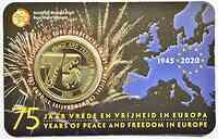2,5 Euro Ende des 2. Weltkrieges NL-Version 2020 Stgl. Belgien