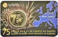 2,5 Euro Ende des 2. Weltkrieges FR-Version 2020 Stgl. Belgien